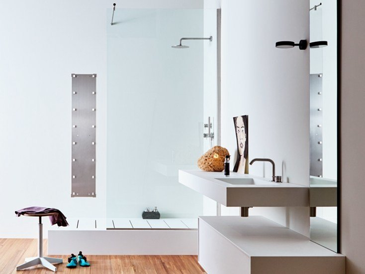 Vasca Da Bagno Freestanding Polaris : Unico vasca da bagno in corian by rexa design