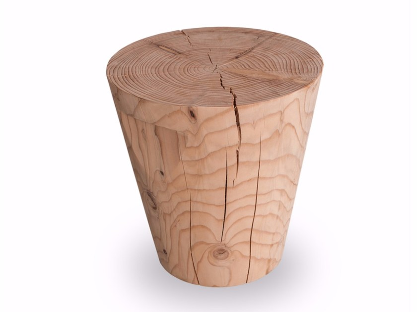 Cedarwood stool VASE by Riva 1920