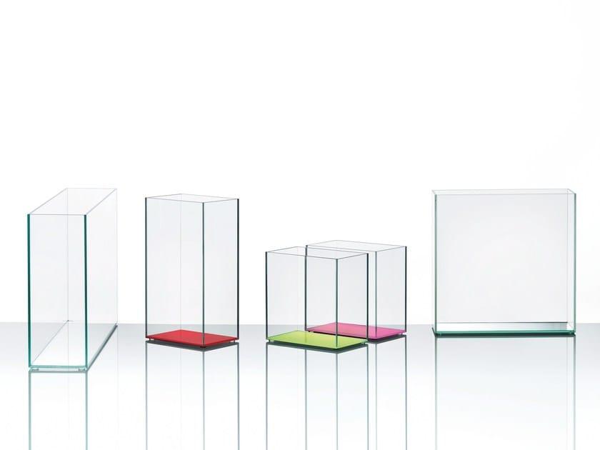Crystal vase VASI by Glas Italia
