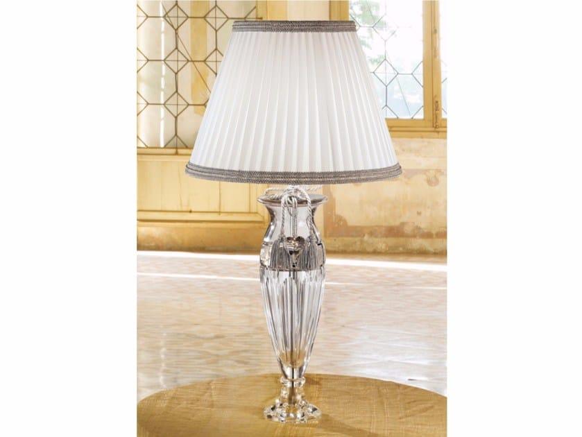 Lampada da tavolo a luce diretta incandescente in cristallo VE 1014 | Lampada da tavolo by Masiero