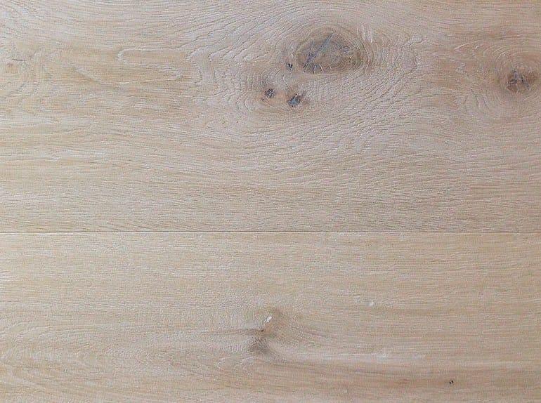 Brushed oak parquet VECCHIO MULINO BIANCO by Lignum Venetia