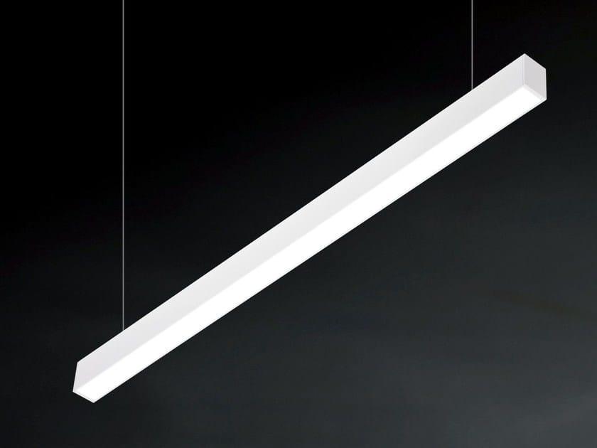 LED direct light pendant lamp VECTOR A 9814 by Metalmek