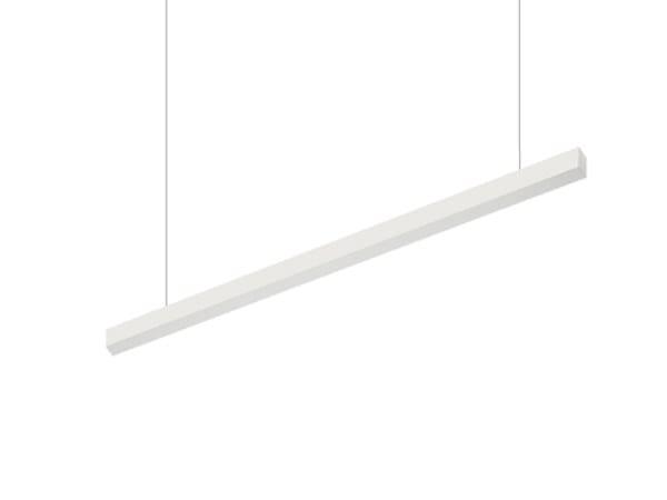 LED indirect light aluminium pendant lamp VECTOR A IND 9825 PO by Metalmek