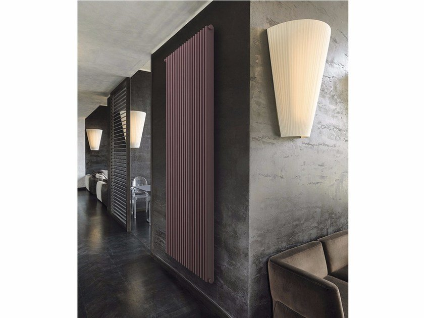 Extruded aluminium decorative radiator VEGA 2T by K8 Radiatori