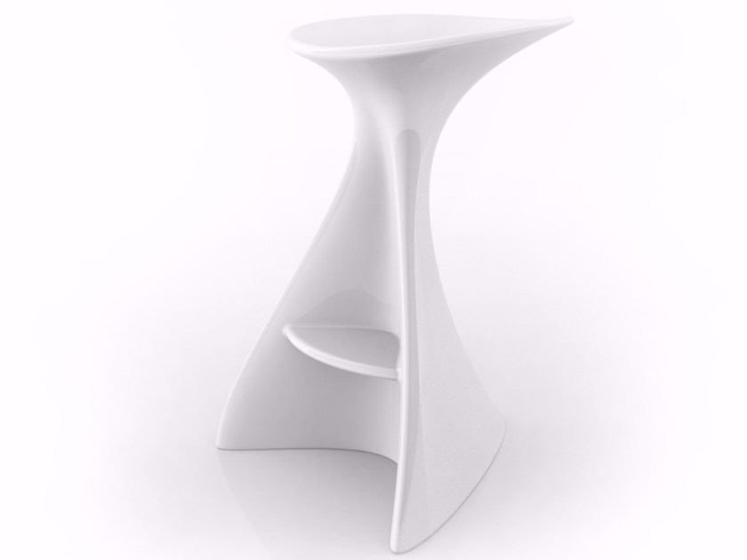 High Adamantx® stool with footrest VEGA by ZAD ITALY