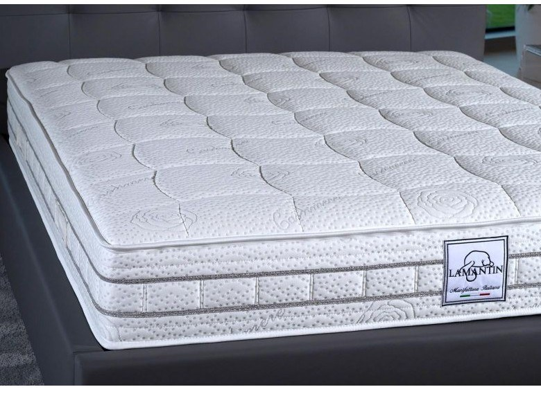 Anti-allergy anatomic anti-mite mattress VEGAN by Lamantin