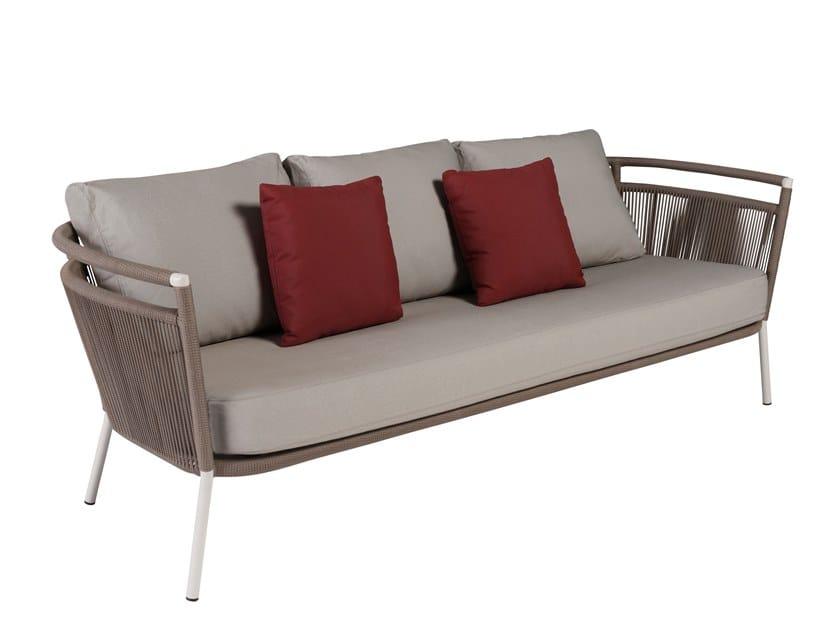 3 seater garden sofa VEGAS | 3 seater garden sofa by Kok Maison