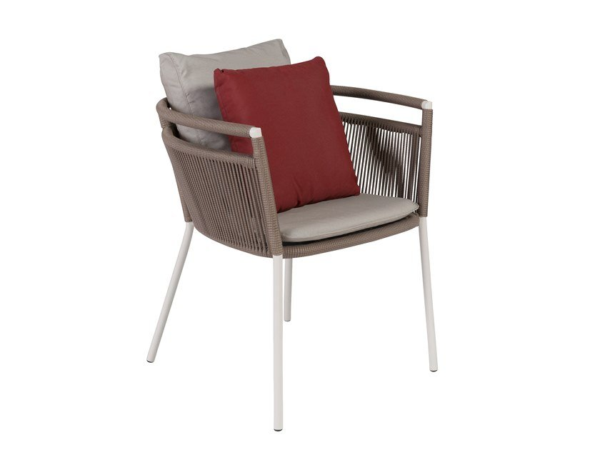 Garden chair with armrests VEGAS | Chair with armrests by Kok Maison