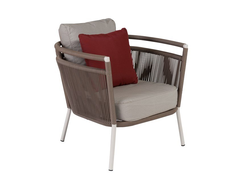 Garden armchair with armrests VEGAS   Garden armchair by Kok Maison