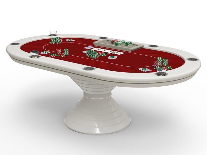 Vegas Oval Poker Table By Vismara Design