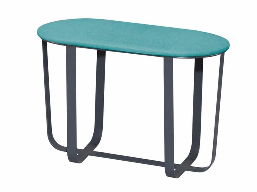 Low fabric stool VELASCO V2 by AZEA