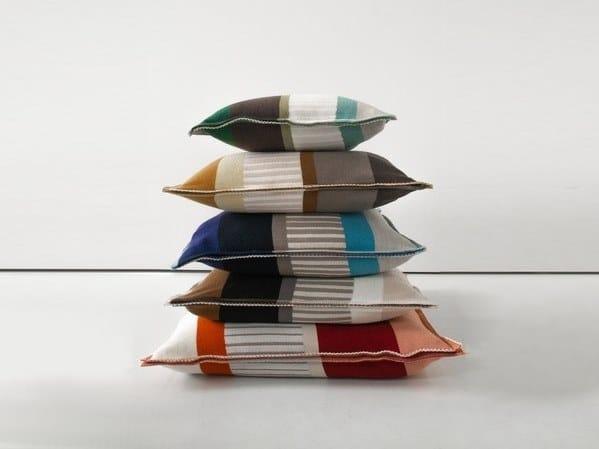 Geometric merino wool cushion VELDEN   Cushion by Casalis