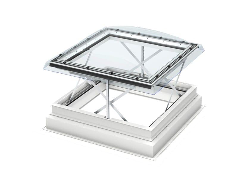 Finestra evacuatore di fumo e calore per tetti piani CSP by Velux