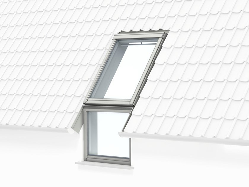 Top-hung Manually operated roof window VFE by Velux