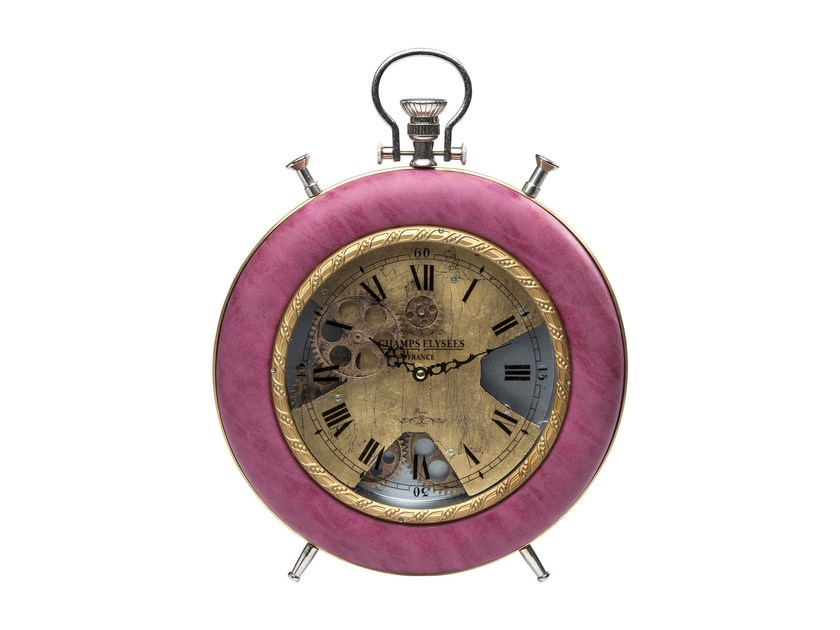 Table-top clock VELVET PINK TIME by KARE-DESIGN