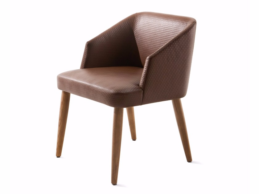 Leather easy chair VENDOME | Leather easy chair by Varaschin