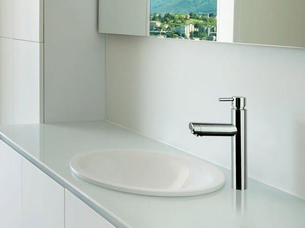 Miscelatore per lavabo da piano in acciaio inox VENERE | Miscelatore per lavabo by Ama Luxury Shower