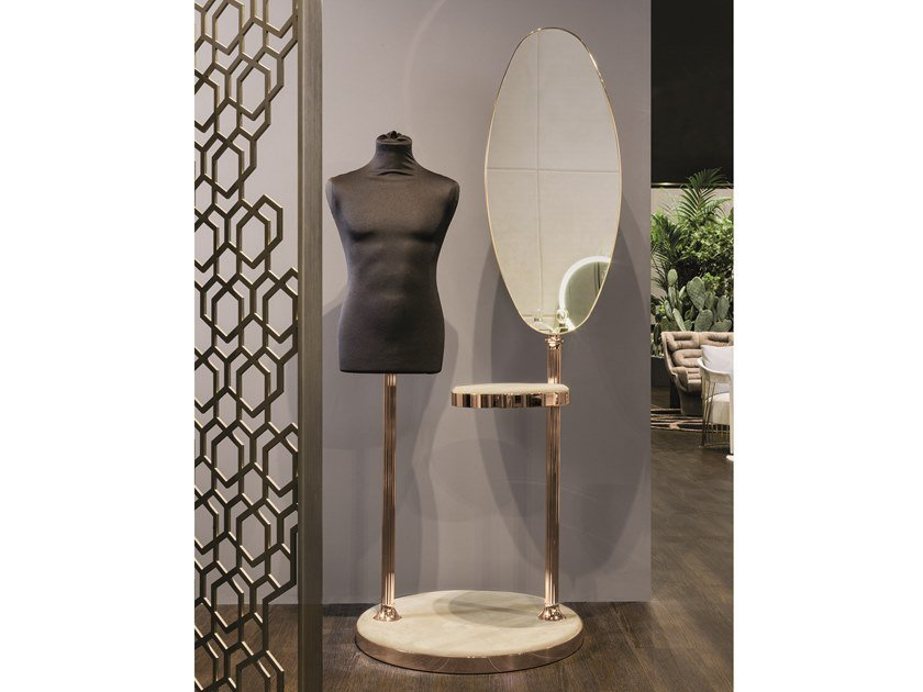 Mirror / valet stand VENERE by Longhi
