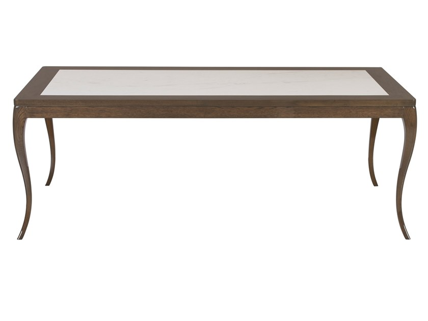 Rectangular marble dining table VENEZA | Marble table by Green Apple