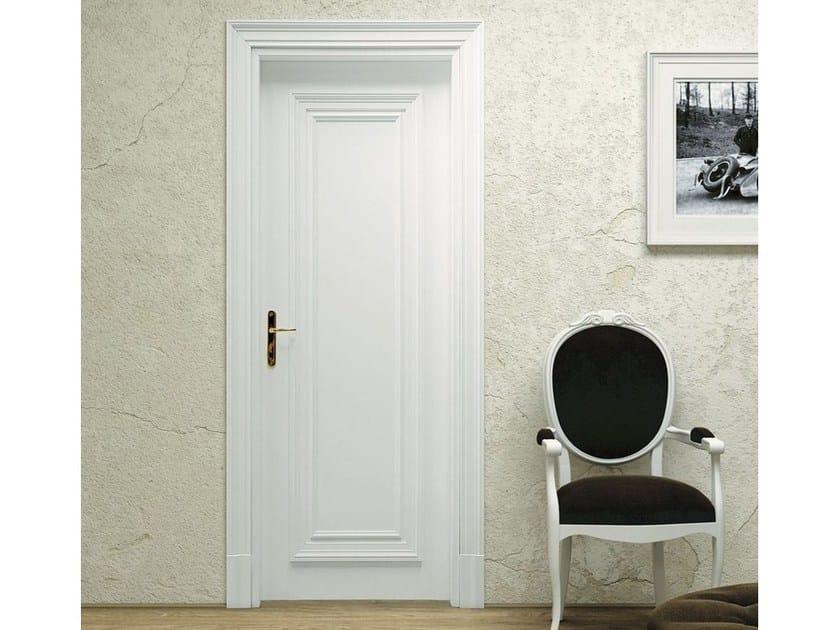 Hinged wooden door VENEZIA 1 by Pail Serramenti