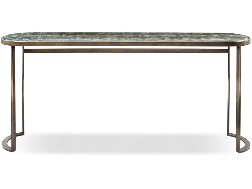 Rectangular metal console table VENEZIA | Console table by Cantori