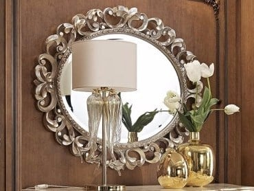 Wall-mounted framed mirror VENEZIA   Mirror by Arvestyle