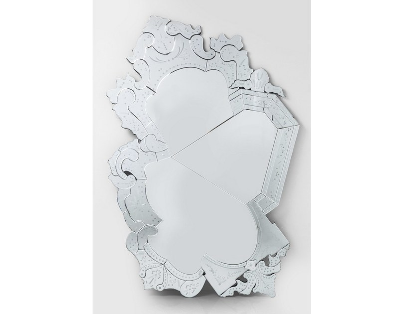 Wall-mounted mirror VENICE CRACK by KARE-DESIGN