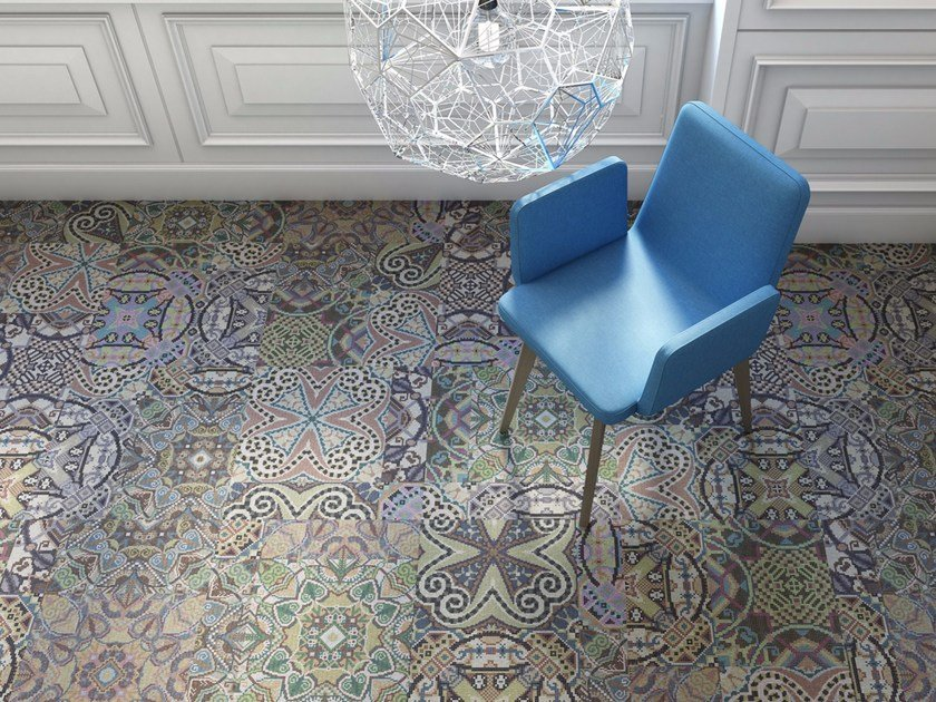 Dalle de moquette motifs venice by object carpet gmbh for Dalle moquette bureau