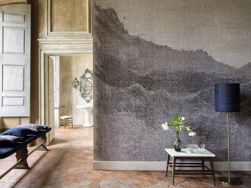 Carta da parati lavabile panoramica in vinile VENT D'OUEST by Élitis
