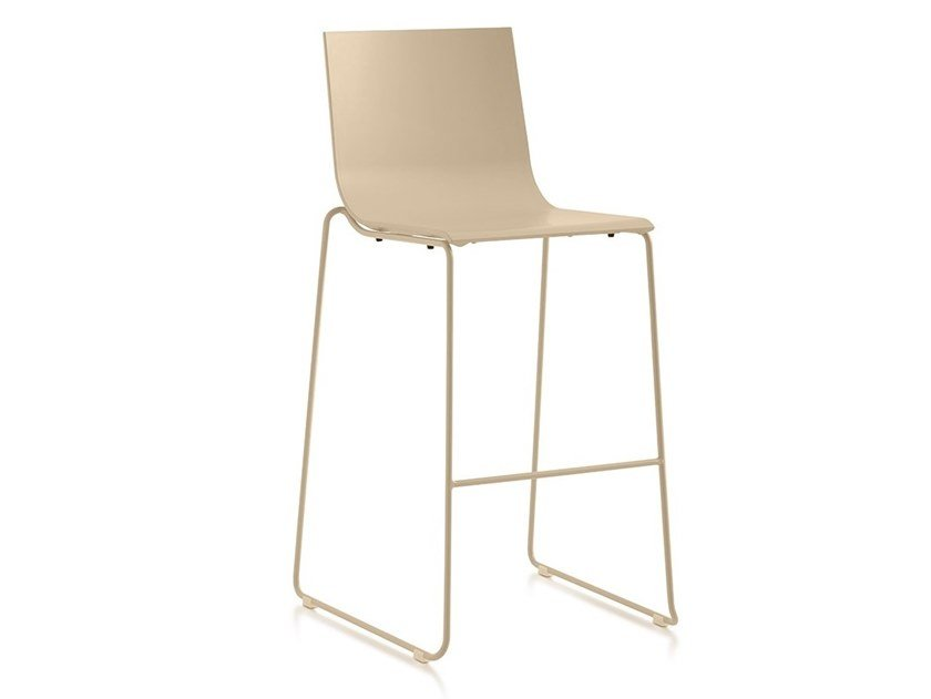 High sled base garden stool VENT | Sled base stool by Diabla