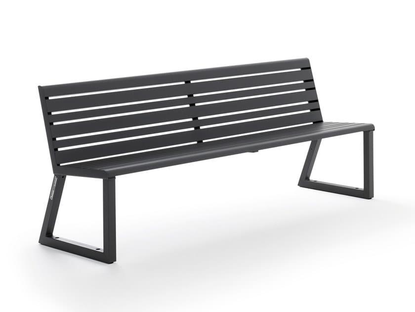 VENTIQUATTRORE.H24 | Panchina con schienale