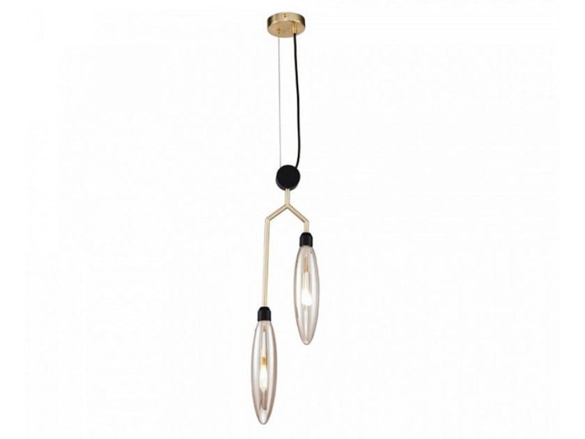 Direct light metal pendant lamp VENTURA   Metal pendant lamp by MAYTONI
