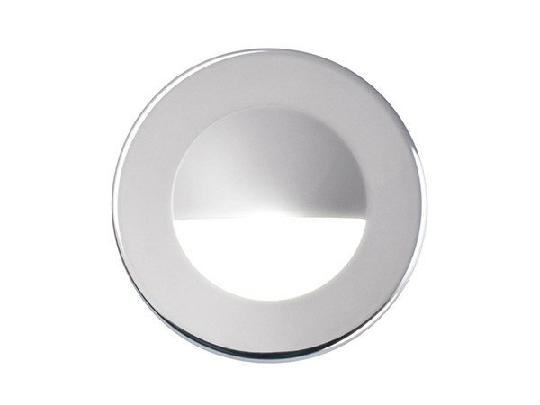 LED wall-mounted stainless steel steplight VENUS 72 V 4W by Quicklighting