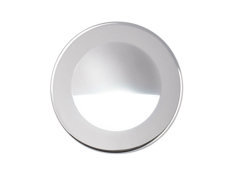 LED wall-mounted stainless steel steplight VENUS 88 6W by Quicklighting