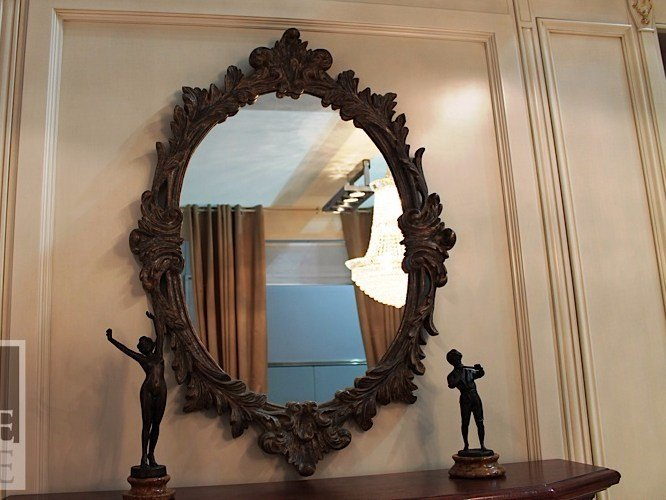 Oval wall-mounted mirror VENUS | Mirror by Arvestyle