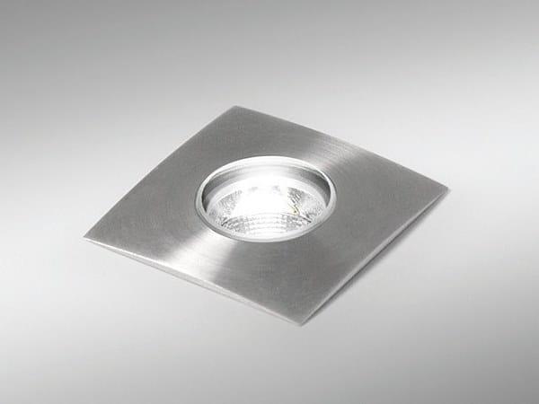LED outdoor stainless steel steplight VENUS-R / VENUS-S by BEL-LIGHTING