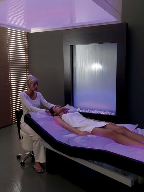 Massaggio Su Lettino Ad Acqua.Lettino Per Massaggi Ad Acqua Riscaldato Con Cromoterapia Venus