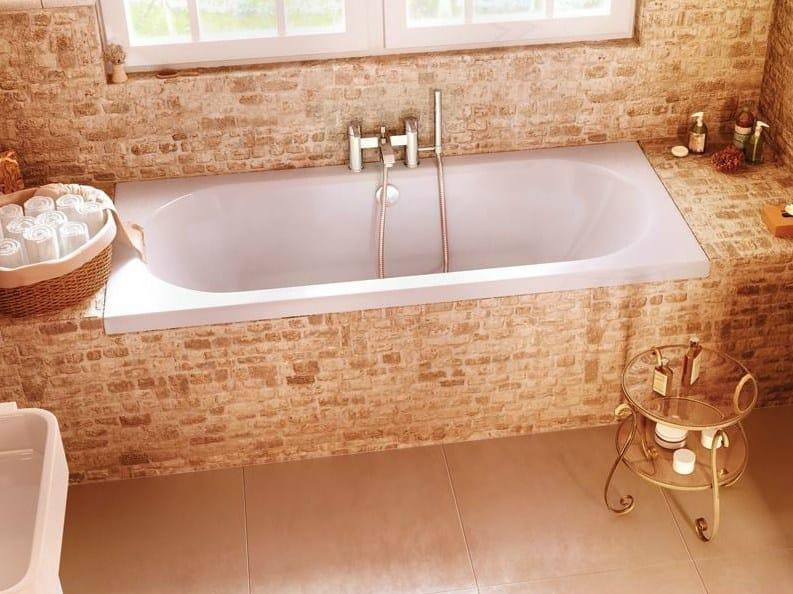 Rectangular built-in bathtub VERDE by Polo
