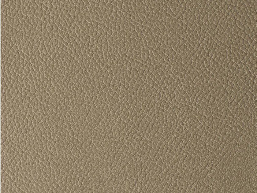 Solid-color leather fabric VERMONT by Elastron