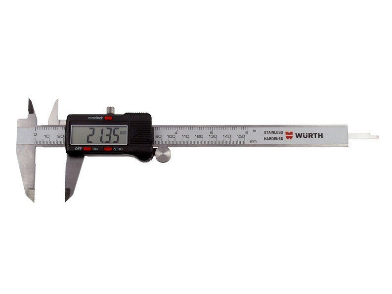 Measurement, control, thermographic and infrared instruments VERNIER CALLIPERS, DIGITAL by Würth