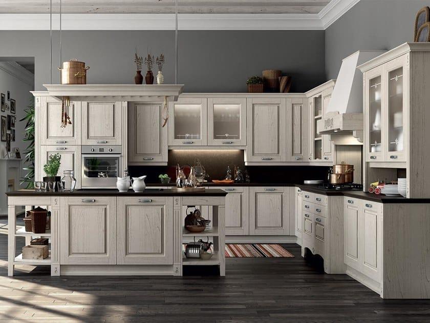 Einbauküche mit Kücheninsel VERONA By ARREDO 3