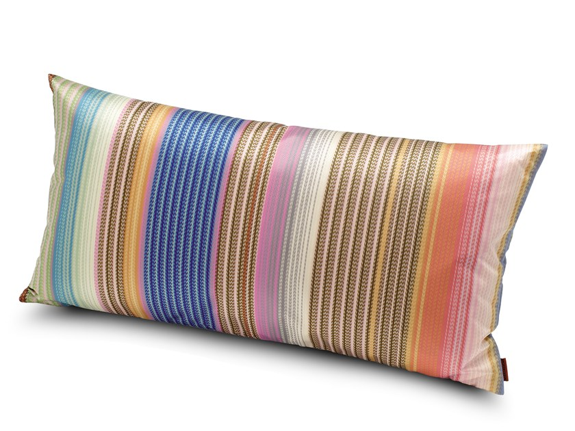 Striped fabric cushion VERONA | Rectangular cushion by MissoniHome