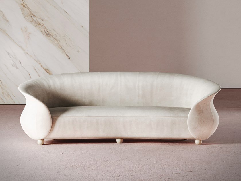 Curved sofa VERONA   Curved sofa by Desforma