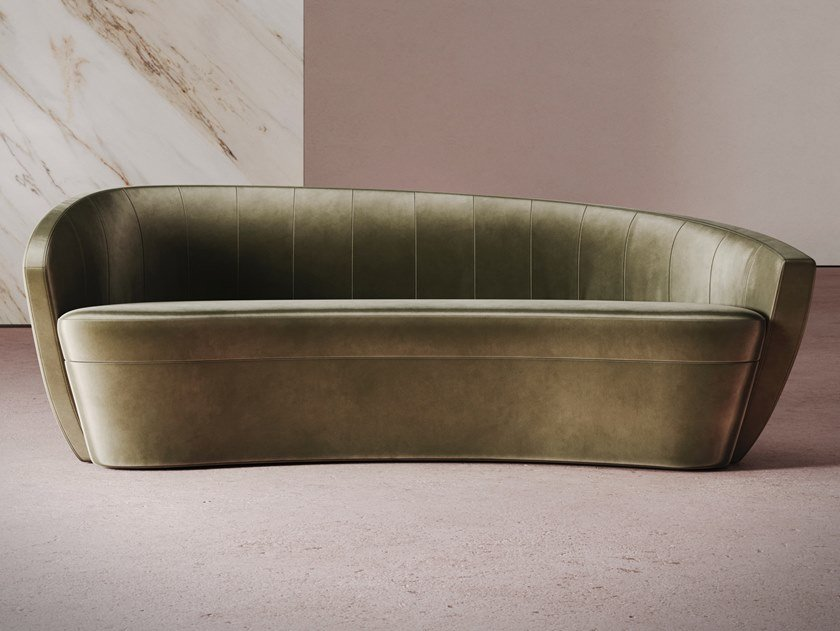 Curved sofa GRAVITY | Sofa by Desforma