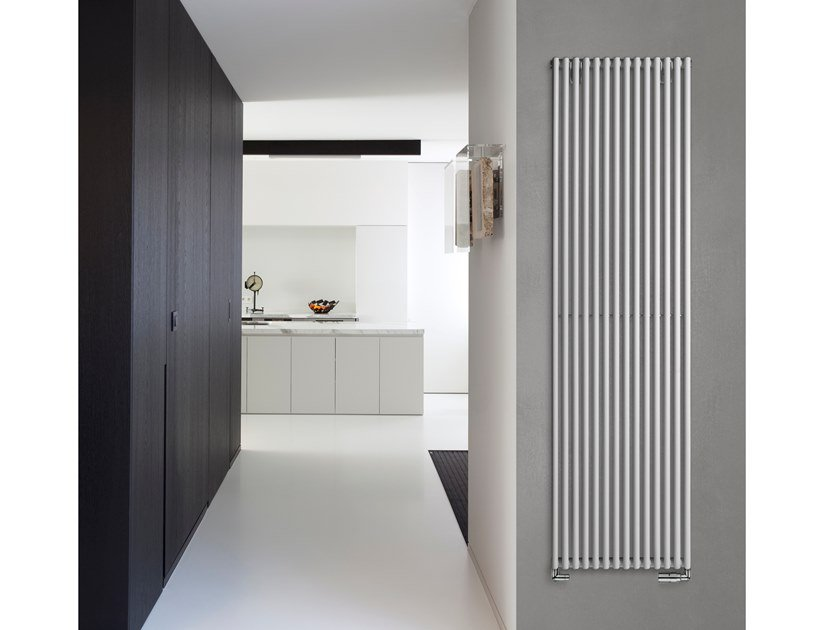 Wall-mounted steel decorative radiator VERONICA by VASCO