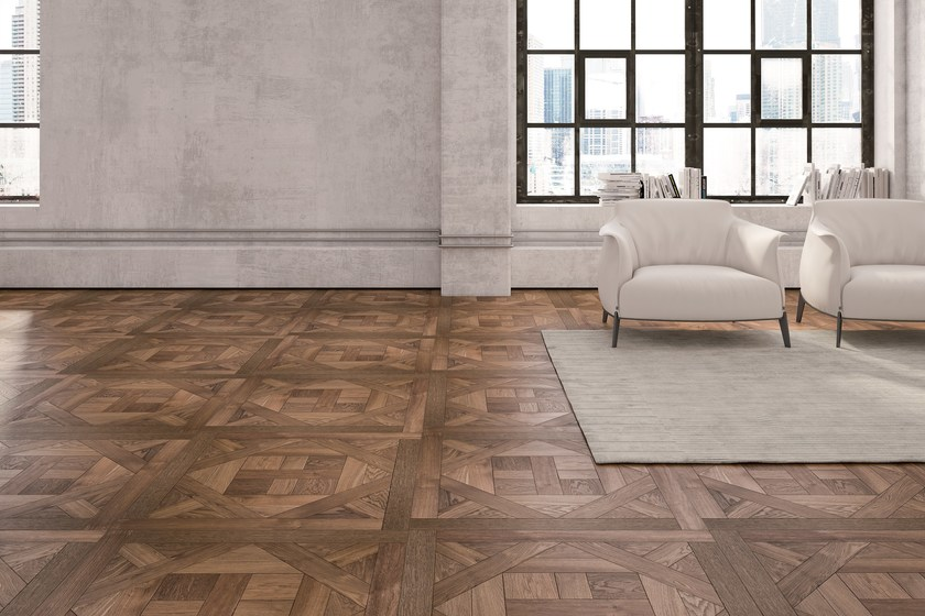 Wooden wall/floor tiles VERSACE | Wooden wall/floor tiles by Alma by Giorio