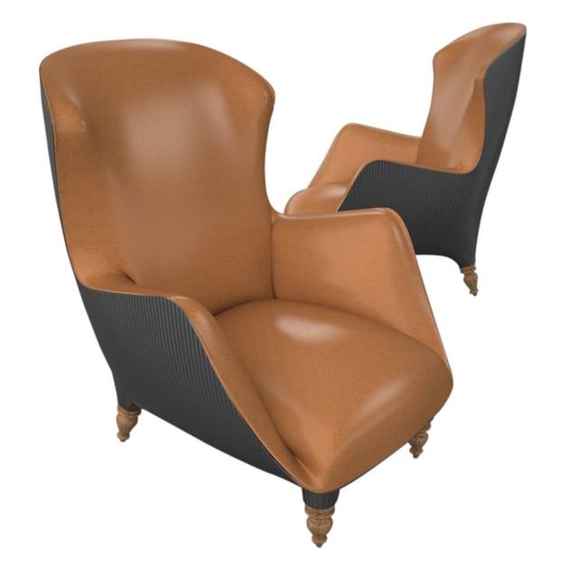 Foam armchair with armrests VERSAILLES | Armchair by Sérénité Luxury Monaco