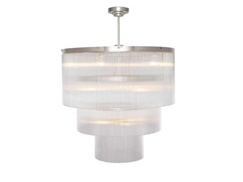 Handmade brass chandelier VERSAILLES CHANDELIER III. by Patinas Lighting