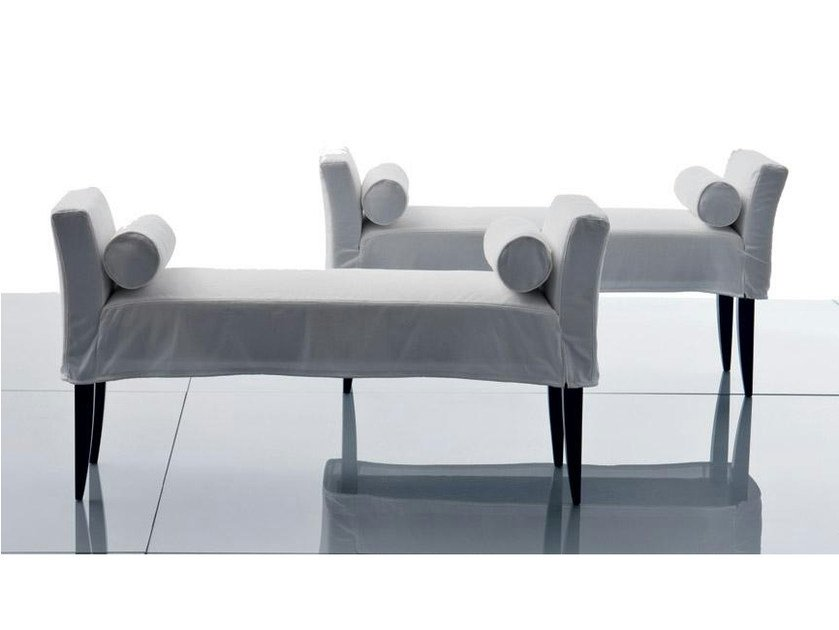 Upholstered fabric bench VERSAILLES | Bench by Marac