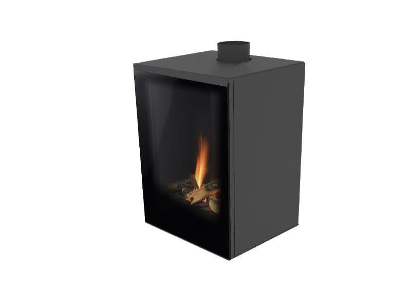 Gas freestanding fireplace VERSAL FREESTANDING by Planika